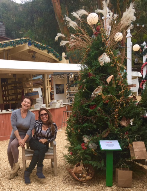 Our Sawdust Christmas Tree 2017